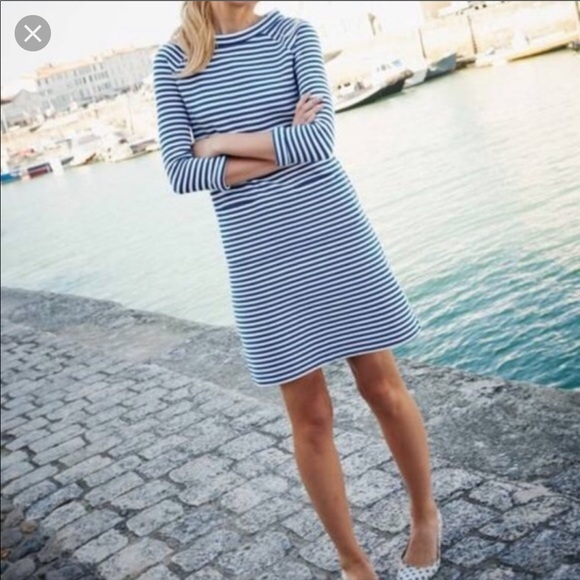 Boden Dresses & Skirts - Cute Boden Blue & White Striped Dress 4